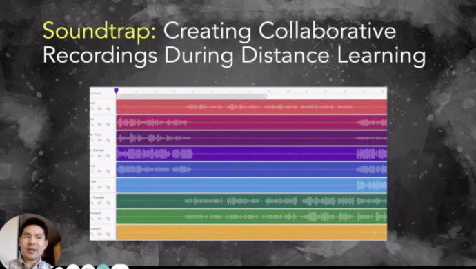 Creating Collaborative Recordings During Distance Learning, presented by Jonathan Pwu